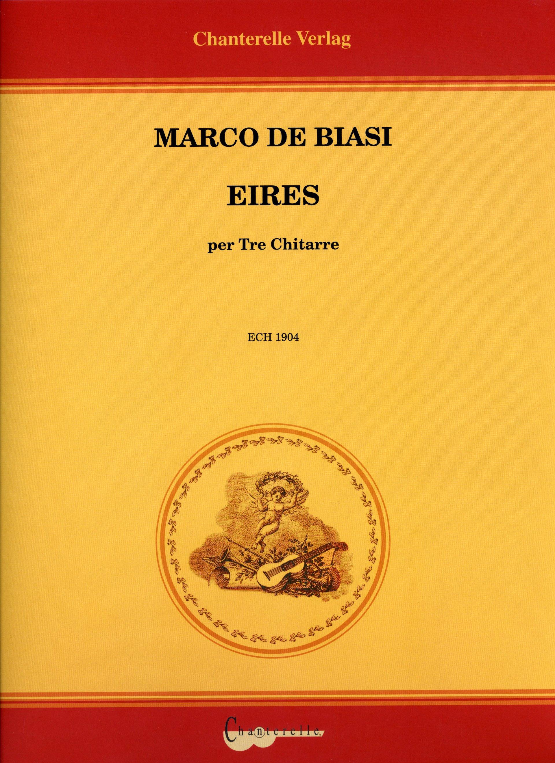 COPERTINA EIRES - MARCO DE BIASI