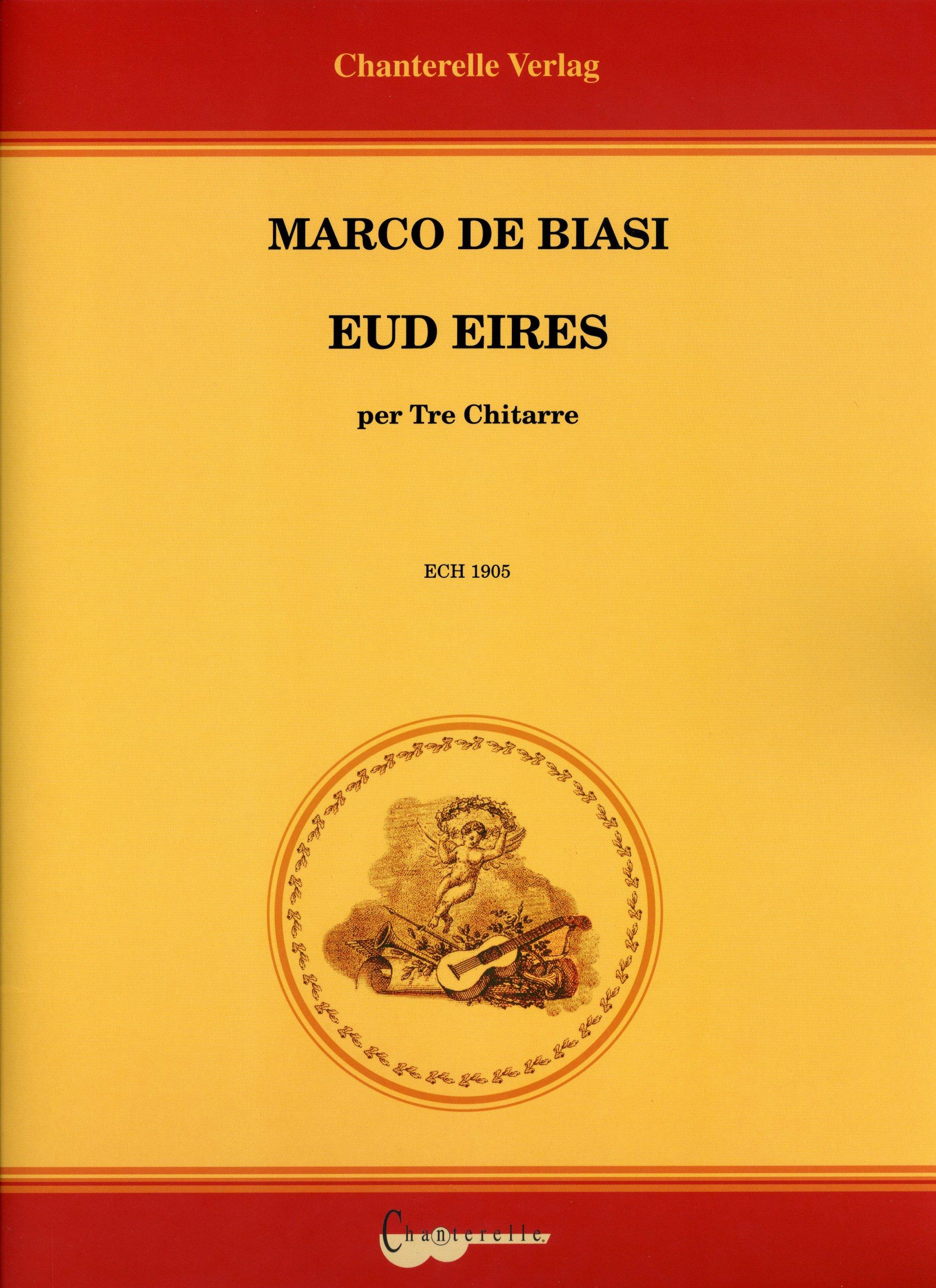 COPERTINA EUDEIRES - MARCO DE BIASI