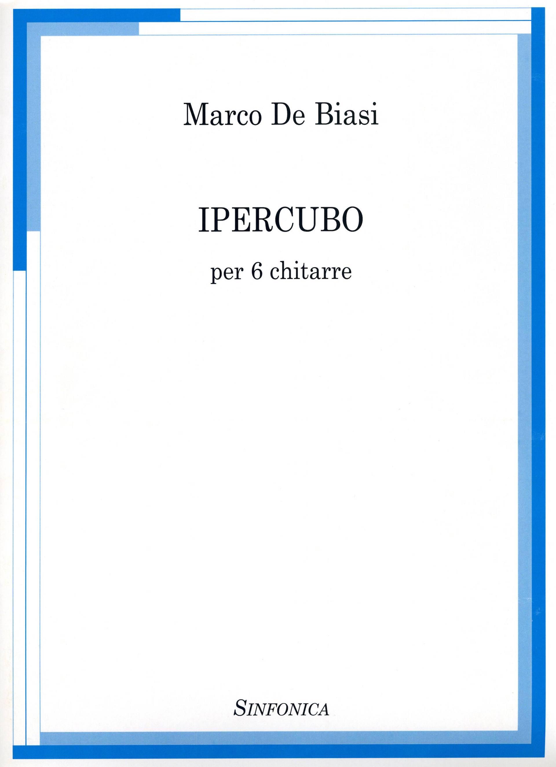COPERTINA IPERCUBO - MARCO DE BIASI
