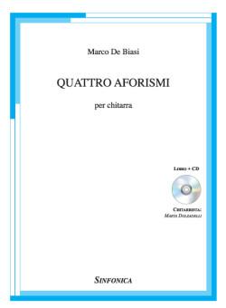 COPERTINA QUATTRO AFORISMI - MARCO DE BIASI