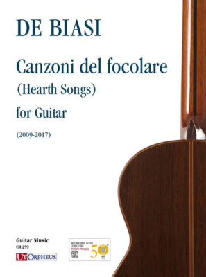locandina Canzoni del focolare - Marco De Biasi