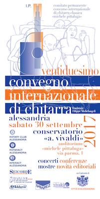 locandina Convegno internazionale di chitarra - Marco De Biasi